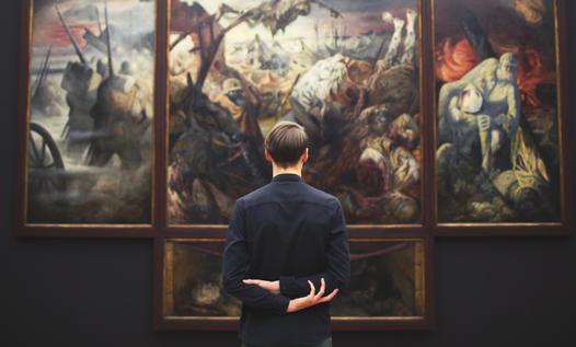 Raccontare l'arte